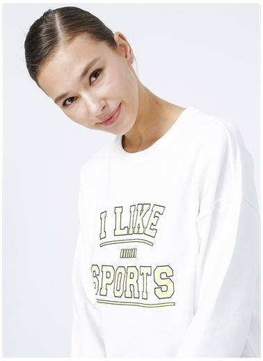 Fabrika Sports Sweatshirt Ekru